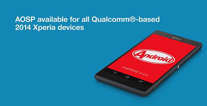 Sony приносит поддержку AOSP для всех смартфонов 2014 года на Qualcomm