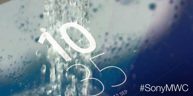"""Новый тизер Sony """"Готовьтесь к сенсации"""" на MWC 2015"""