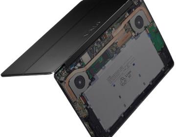 Первые, после отделения от Sony, ноутбуки VAIO