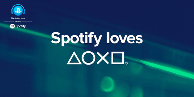 Sony запустили Spotify на PS4, PS3