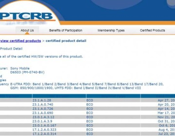Обновление прошивки (23.1.A.1.28) сертифицировано для Xperia Z2 и Xperia Z2 Tablet