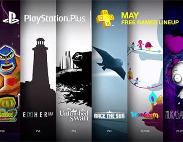 Список новых бесплатных Playstation игр в мае