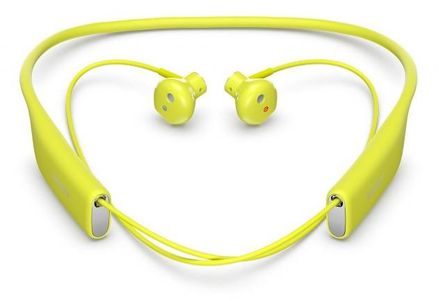 Желтая Sony SBH70