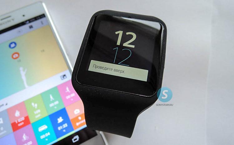 Sony SmartWatch 3 начинает получать обновление Android 5.1.1
