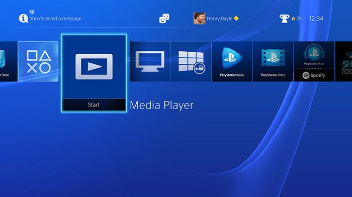 Sony создали всеядный медиаплеер для PS4