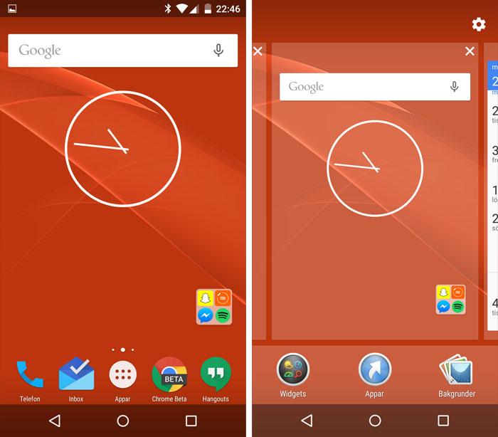 Скриншоты новой оболочки Sony Concept for Android для Xperia