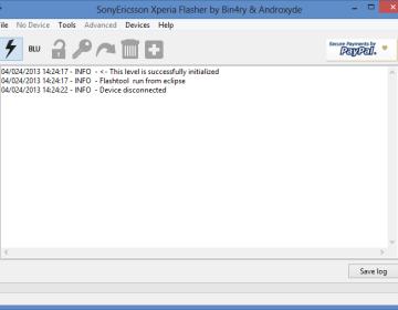 Обновление Flashtool (0.9.19.0)