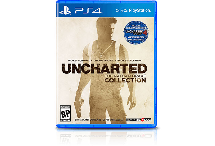 коробка Uncharted: The Nathan Drake Collection