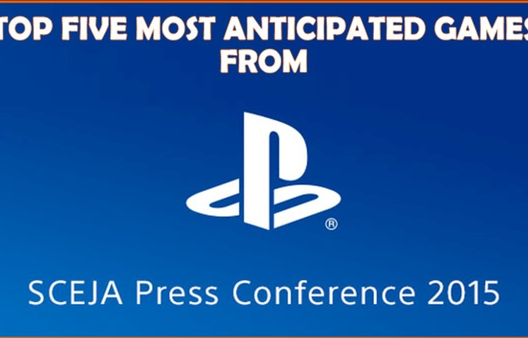 пресс-конференция Sony на Tokyo Game Show 2015