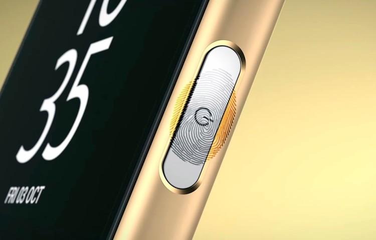 датчик отпечатков пальцев Qualcomm sense ID Xperia Z5