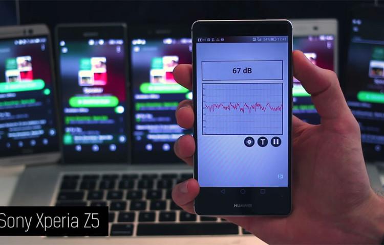 тест качества стереодинамиков - Xperia Z5 vs One M9, Nexus 6, Z5 Compact, Z3 и Xperia Z3+