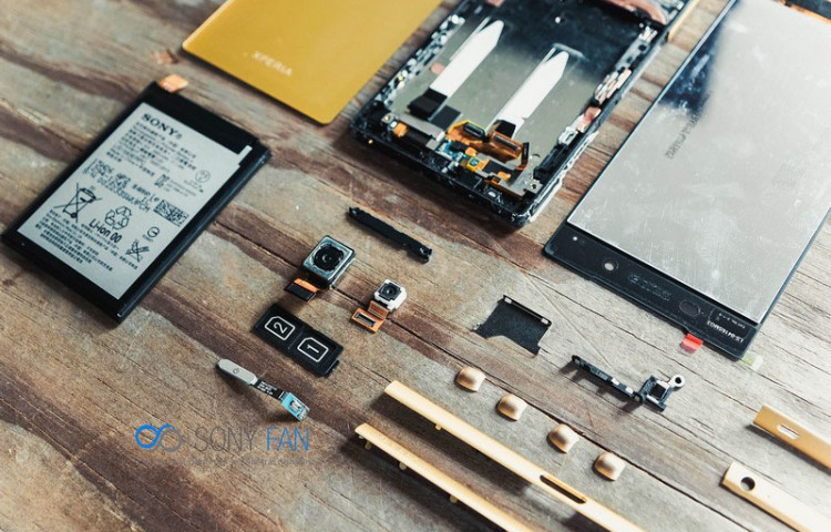 Разборка Xperia Z5