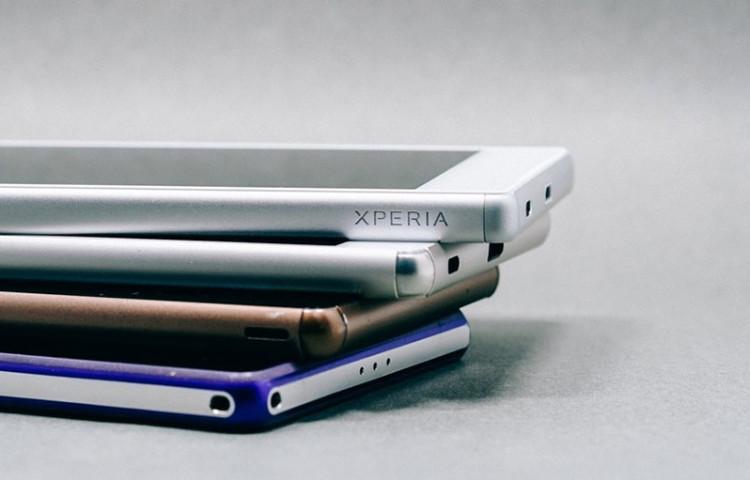 живые фото Xperia Z5 и сравнение с Xperia Z5 Compact