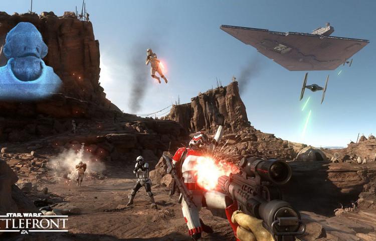 Star Wars Battlefront лучше играть на PS4