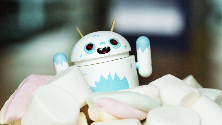 обновление Sony Android Marhmallow Concept для Xperia