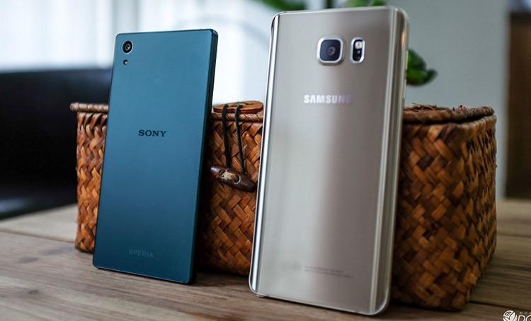 сравнение Xperia Z5 и Galaxy Note 5