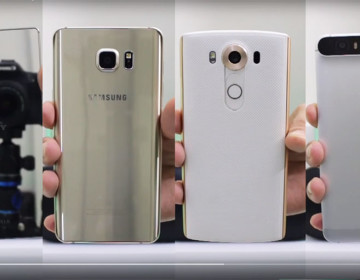 Камера Xperia Z5 Premium vs Galaxy Note 5 vs LG V10 vs Nexus 6P