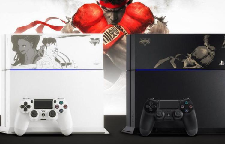 новый бандл PS4 про Street Fighter V