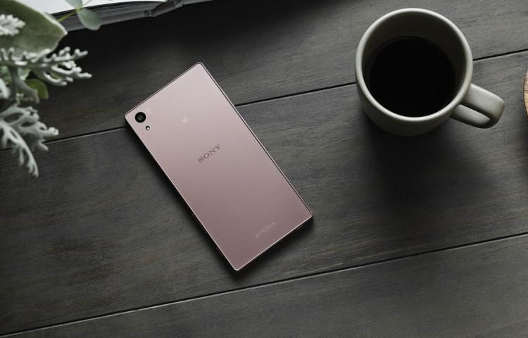 фото Xperia Z5 розовый