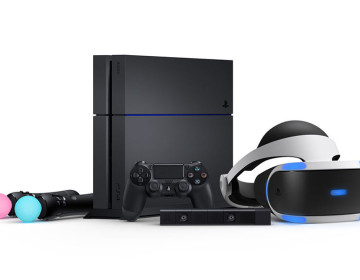 PlayStation VR бандл с PS4