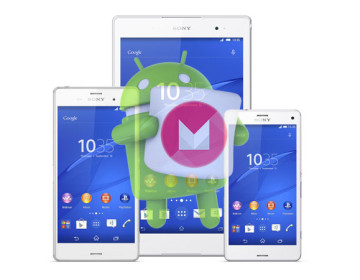 Старт обновления Android Marshmallow для Xperia Z3, Xperia Z2 и Z3 Compact