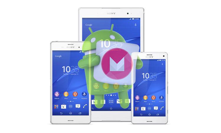 Старт обновления Android Marshmallow для Xperia Z3, Xperia Z2 и Z3 Compact