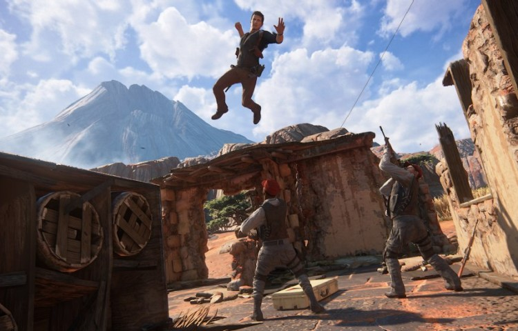 Графика Uncharted 4 новые высоты PlayStation 4