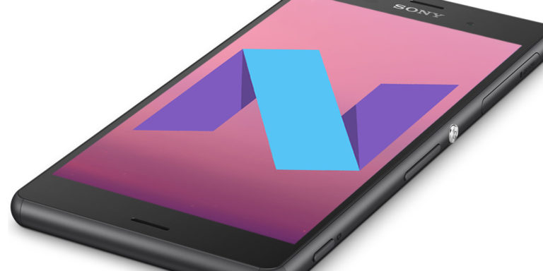 Xperia Z3 Android 7.0 Nougat