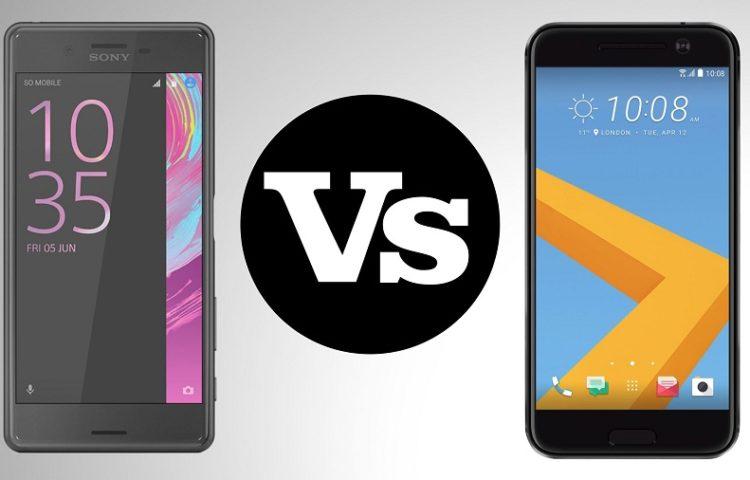 Сравнение камер Xperia X и HTC 10