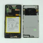 замена заднего стекла Xperia Z3