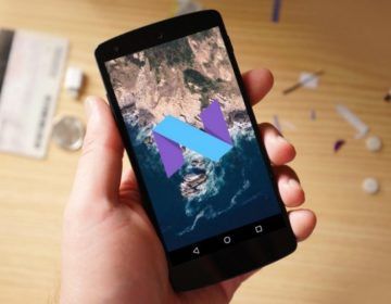 Android 7.0 Nougat на Xperia X