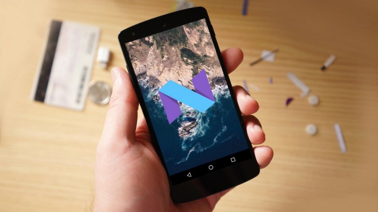 Android 7.0 Nougat на Xperia X