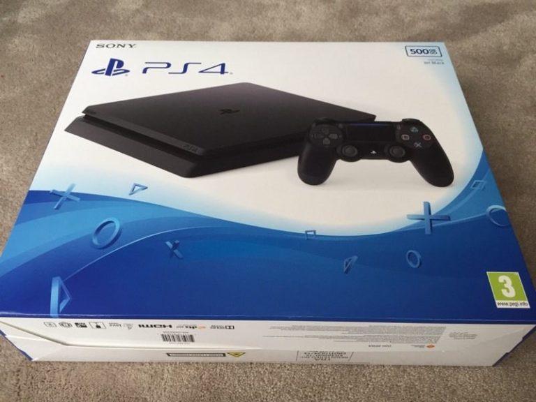 фото PS4 Slim