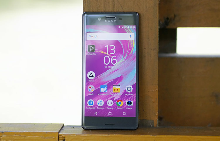 Обзор Sony Xperia X Dual (F5122)