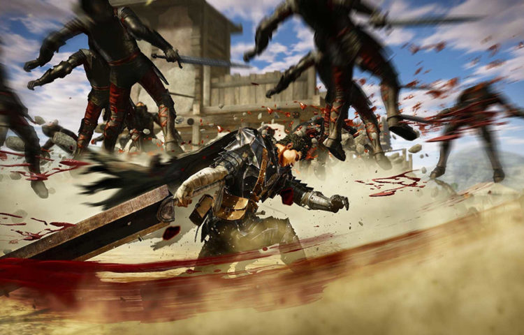 геймплей berserk PS4
