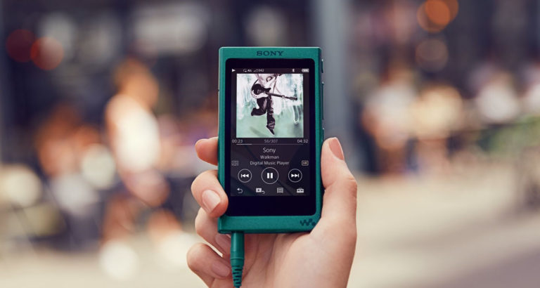 анонс Sony Walkman NW-A30