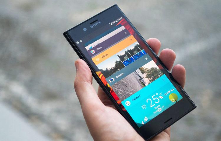 обновление Sony Xperia XZ