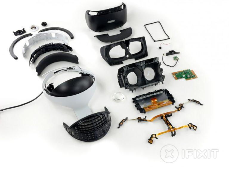 разборка PlayStation VR