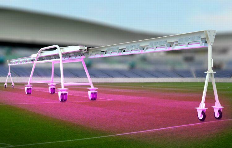 инновационная лампа Sony растит траву в 6 раз быстрее