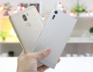 Сравнение Xperia XZ и Xiaomi Mi 5s Plus