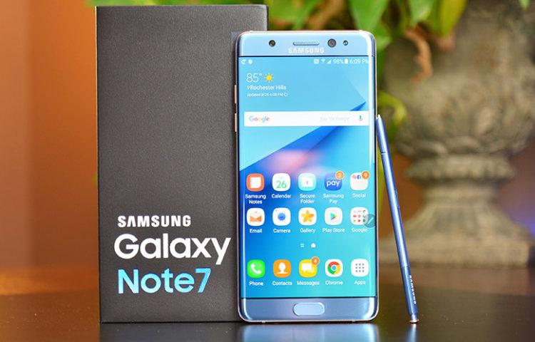 Почему взрывался Galaxy Note 7
