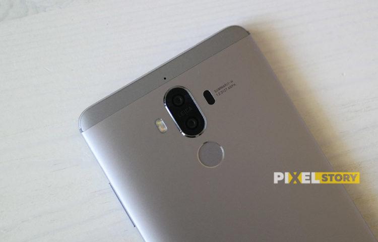 Первый взгляд Huawei Mate 9 Space Gray