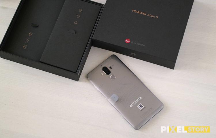 Распаковка Huawei Mate 9