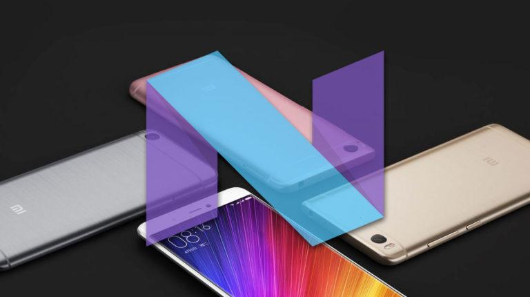 Обновление Android 7.0 Nougat для Xiaomi смартфонов