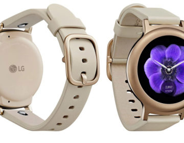 LG-Watch-Style - упаковка и док-станция