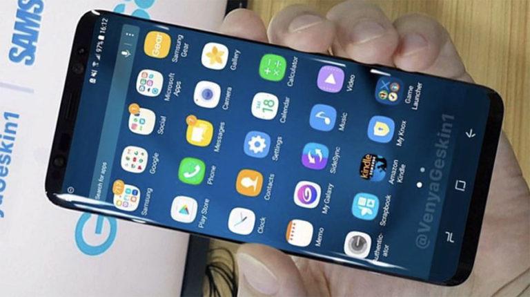 Galaxy S8 реальный дизайн