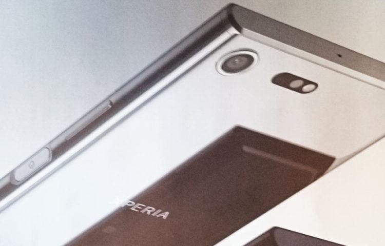 Xperia XZ Premium хромированный дизайн задника