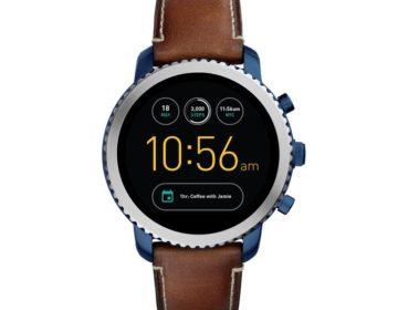 новые умные часы Fossil на Android Wear 2.0