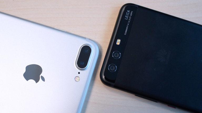 Сравнение камер Huawei P10 vs iPhone 7 Plus
