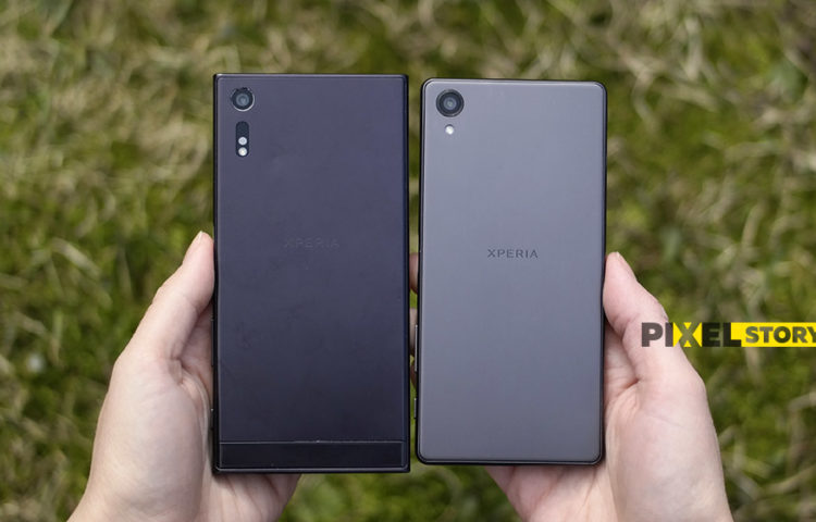 Xperia XZ vs Xperia X - внешний вид